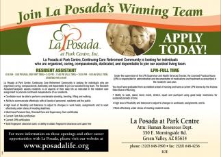 Join La Posada's Winning Team