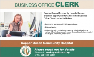 Business Office Clerk