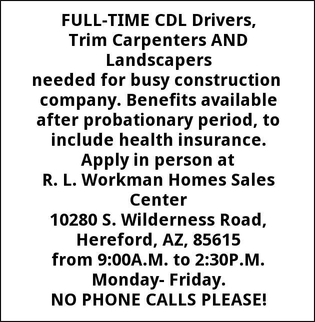 Trim Carpenter & Landscaper