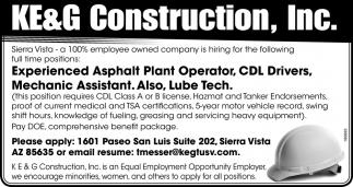 Various Job Openings