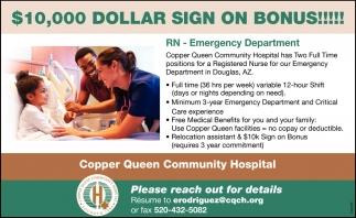 RN - Emergency Department