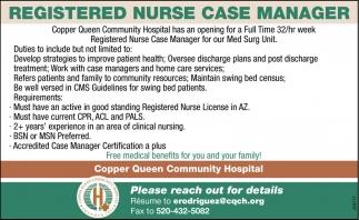 Registered Nurse Case Manager