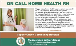 On Call Home Health RN